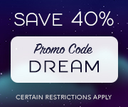 Save with promo code DREAM